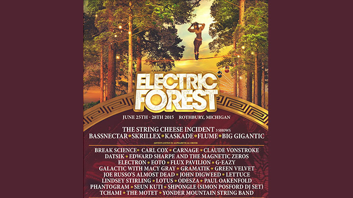 Electric Forest Flyer