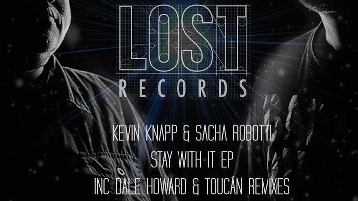 PACK SHOT Kevin Knapp & Sacha Robotti - Stay With It EP - Lost Records