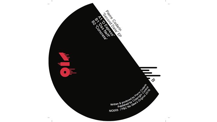 PACKSHOT A Pierre Codarin - Second Date EP - No Idea's Original