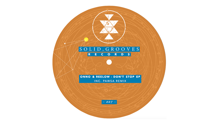 PACKSHOT ONNO & Reelow - Don't Stop EP - Solid Grooves Records