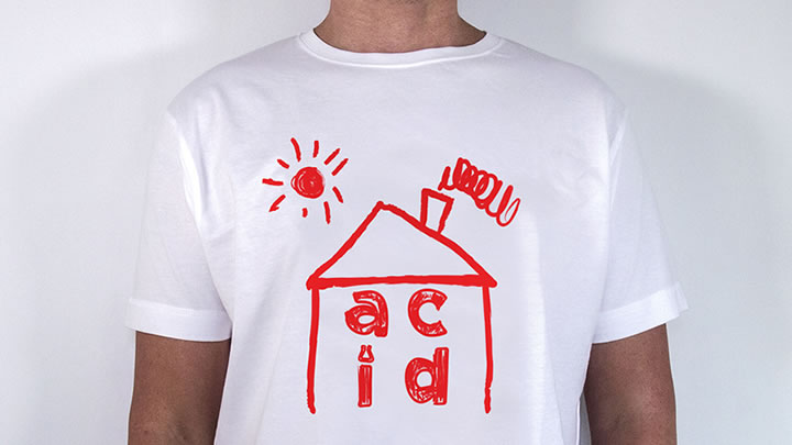 Buy an acid house t shirt and support unicef data for Acid house 2016
