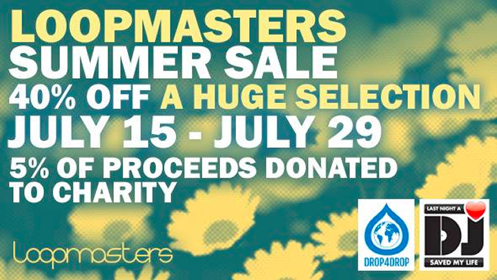 Loopmasters Summer Sale: 40% off sample packs & soundsets - Data ...