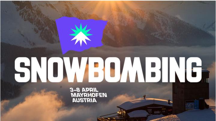 Snow bombing