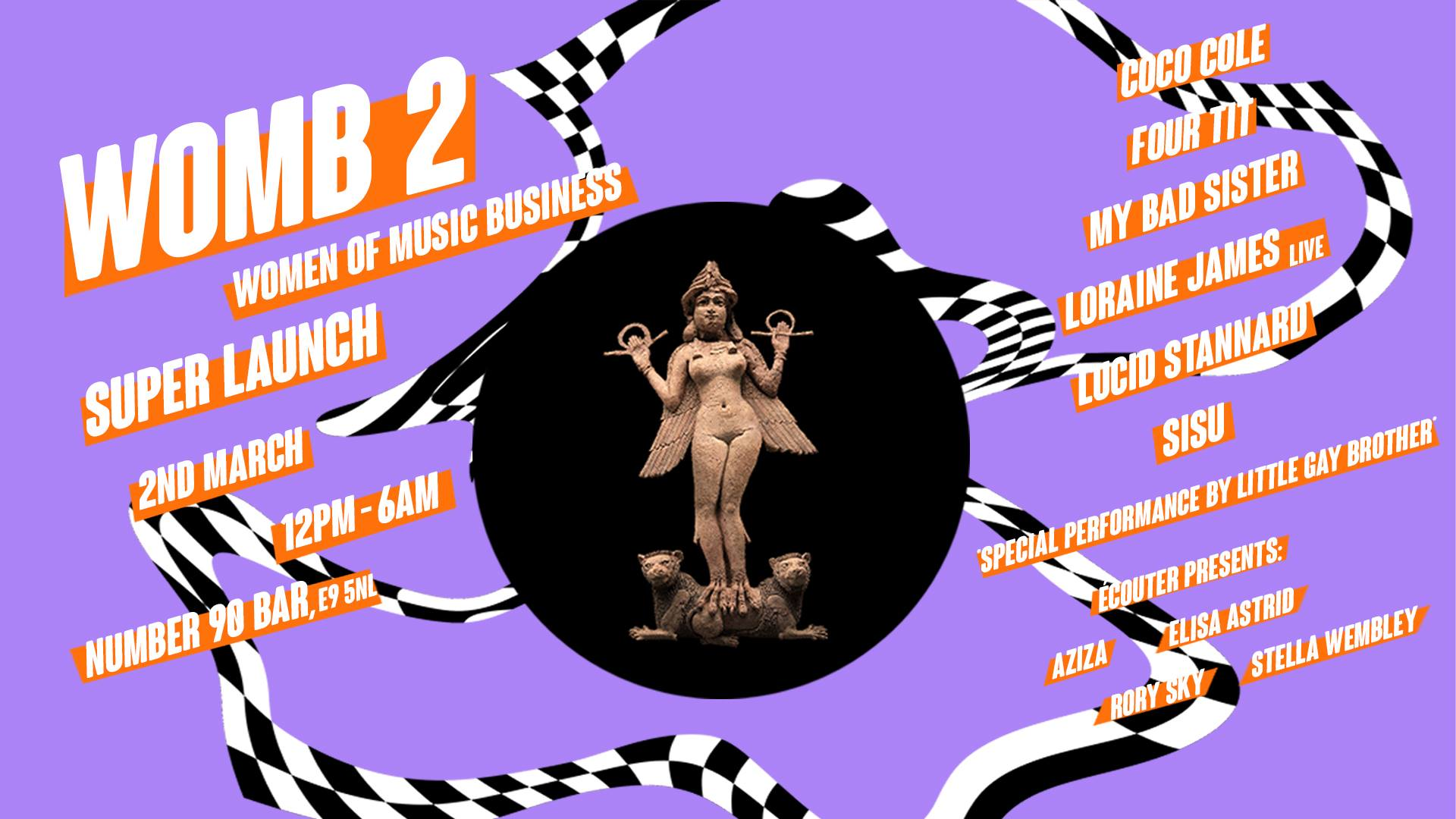 WOMB 2 (Women Of Music Business) heads in London this Friday