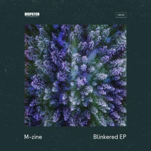 M-zine Blinkered EP Artwork