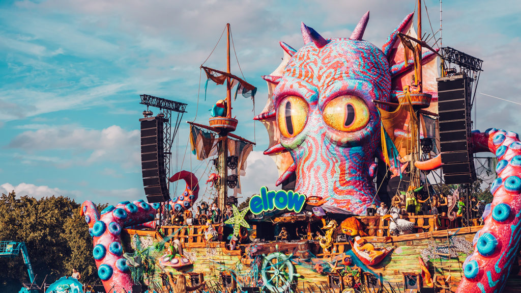elrow octopus