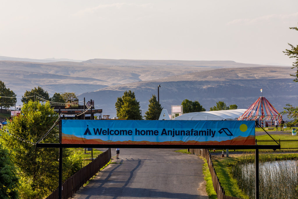 Welcome home Anjunafamily banner