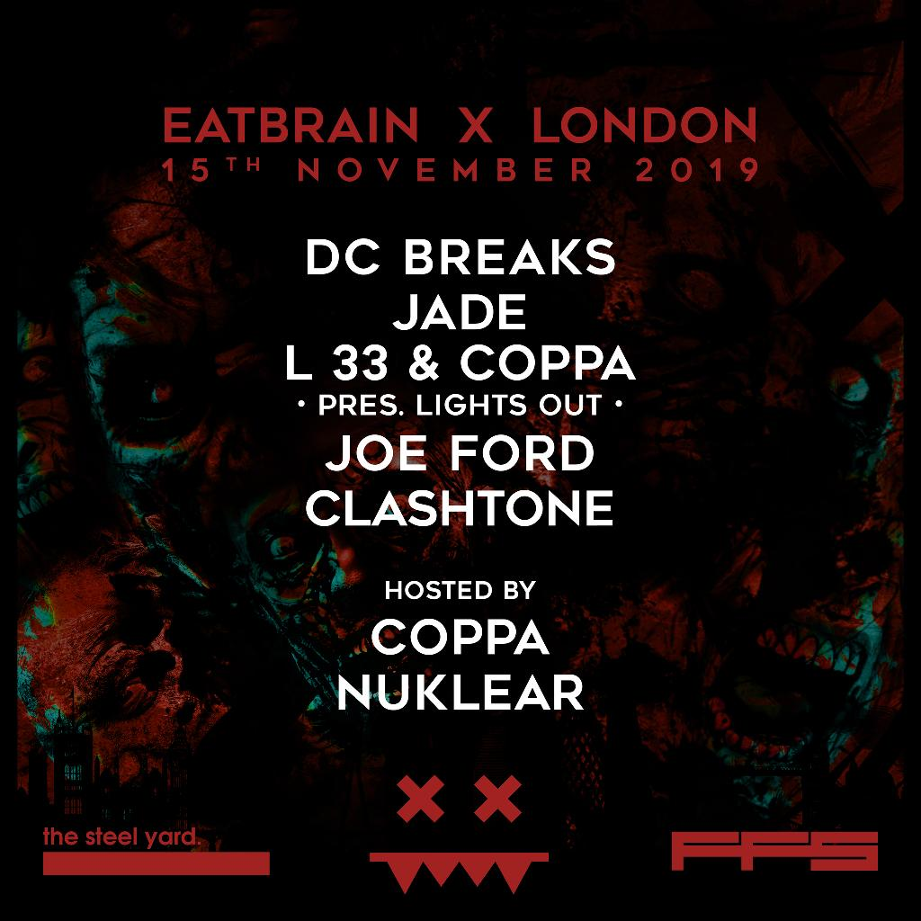 Eatbrain at The Steel Yard flyer
