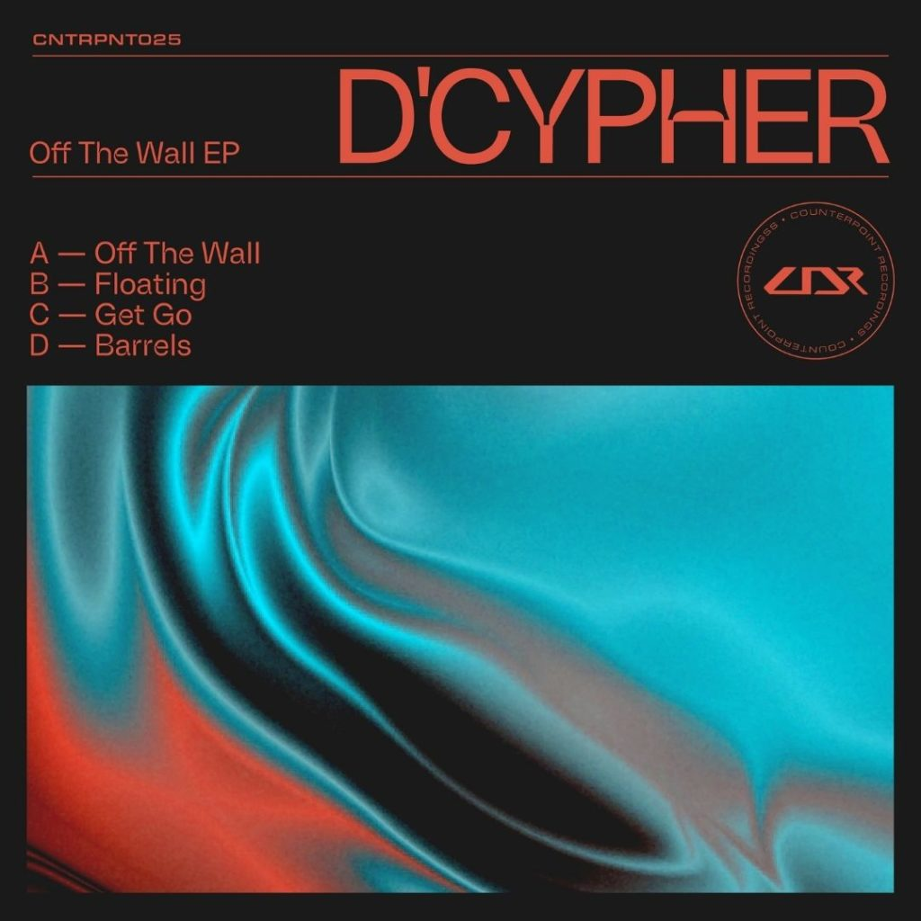 D'cypher 'Off The Wall' EP cover
